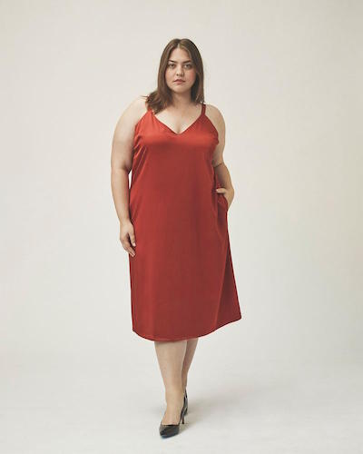 Damara Slip Dress, $143 at universalstandard.com.