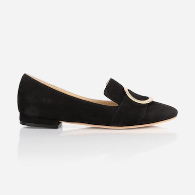 The Fernwood Loafer Black Nubuck, $225 at poppybarley.com.