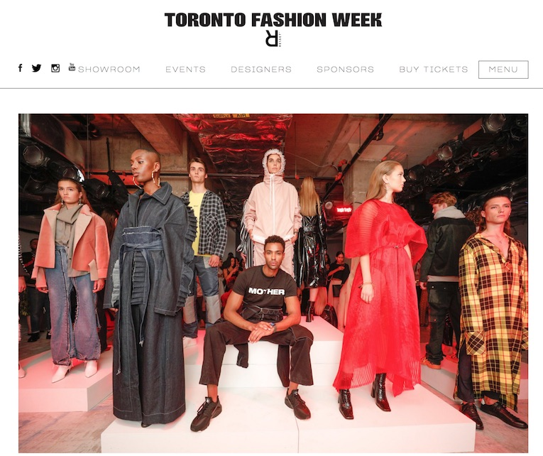 Toronto Fashion Week Content by Editors Inc.